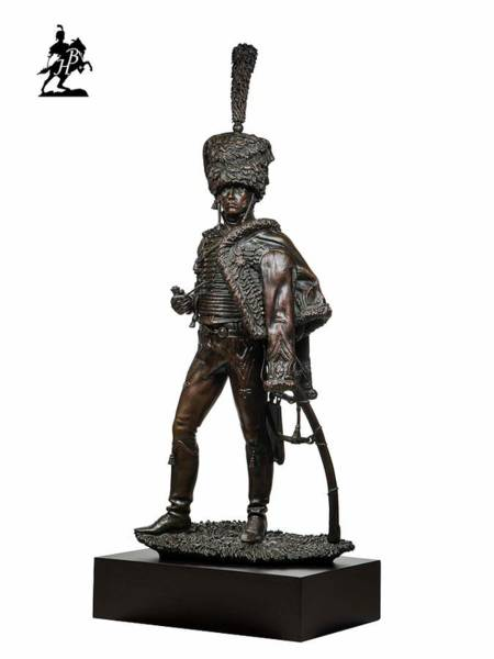 Wall Art - Sculpture - Le Capitaine 1805 by Fernando Andrea