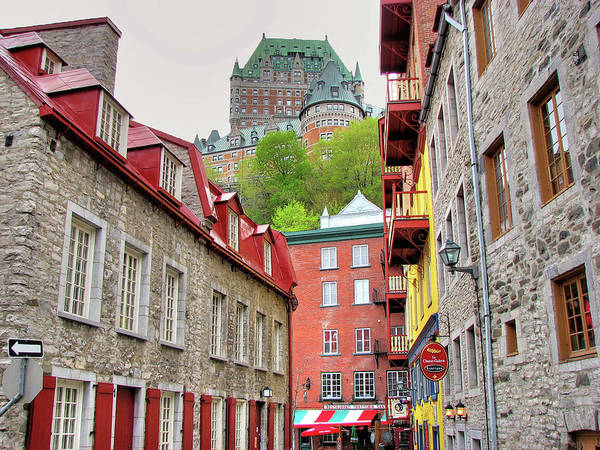 Quebec City Photograph - Le Chateau Frontenac - Old Quebec by Nino H. Photography