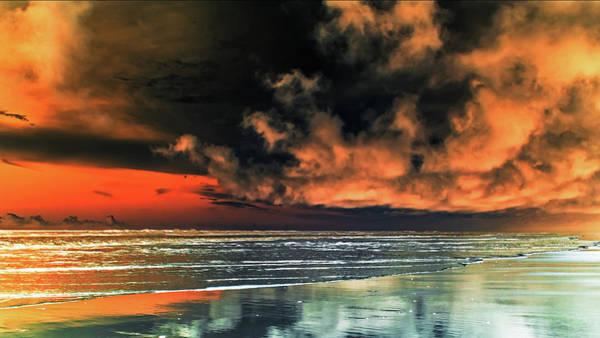Photograph - Le Ciel Rouge 4 by Jorg Becker