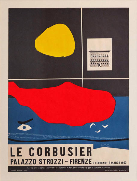 Photograph - Le Corbusier Exhibition 1963 by Andrew Fare