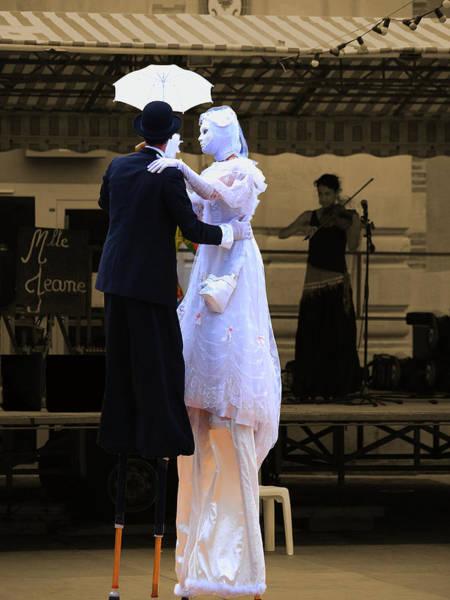 Photograph - Le Couple Dansant by Jorg Becker