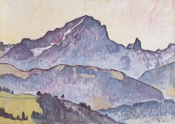 Wall Art - Painting - Le Grand Muveran Von Villars Aus, 1912 by Ferdinand Hodler Paintings