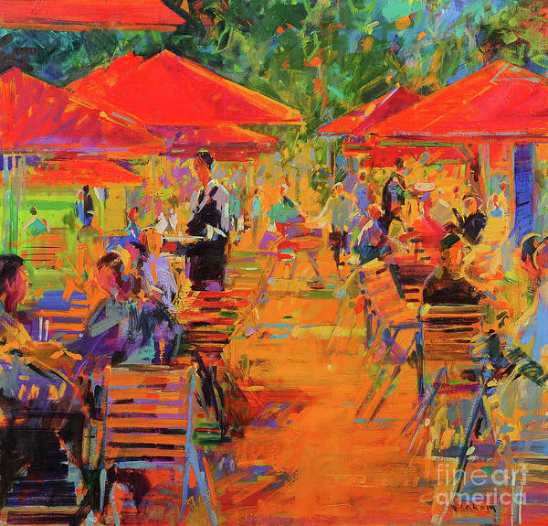 Wall Art - Painting - Le Jardin Des Tuileries by Peter Graham