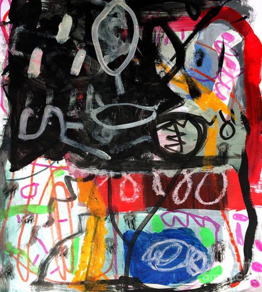 Painting - Le Jour Et La Nuit by Diane Desrochers