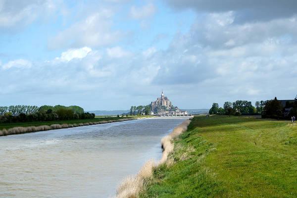 Photograph - Le Mont Saint Michel 6 by Andrew Fare