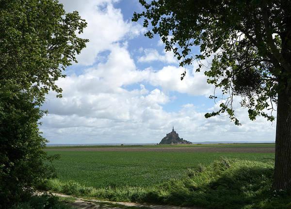 Photograph - Le Mont Saint Michel 9 by Andrew Fare