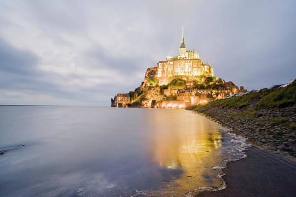 Christianity Photograph - Le Mont Saint Michel, Normandy, France by John Harper