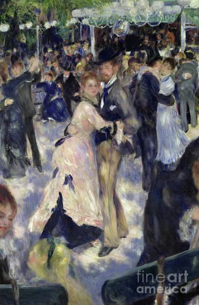Wall Art - Painting - Le Moulin De La Galette, Detail Of The Dancers, 1876 by Pierre Auguste Renoir