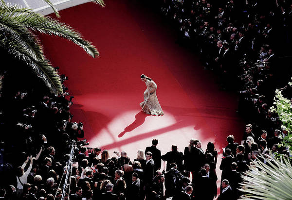 Cannes Photograph - Le Passe Premiere - The 66th Annual by Francois Durand