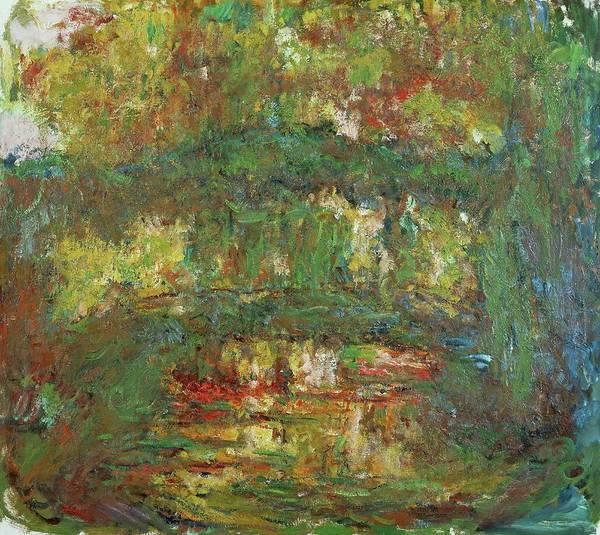 Wall Art - Painting - Le Pont Japonais A Giverny,1918-1924 Canvas, 89 X 100 Cm Inv. 5092. by Claude Monet -1840-1926-