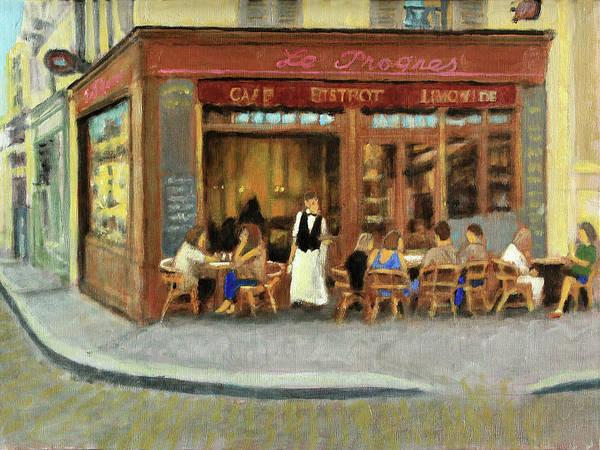 Wall Art - Painting - Le Progres    by David Zimmerman