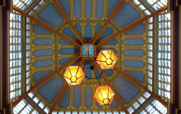 Photograph - Leadenhall Market Ceiling by Michael Gerbino