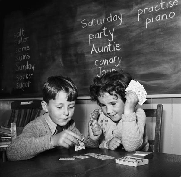 Education Photograph - Learning Fun by Harry Kerr