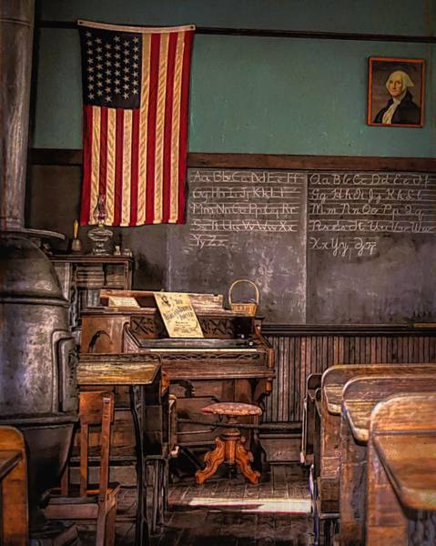 Photograph - Learning Old School by Jack Wilson