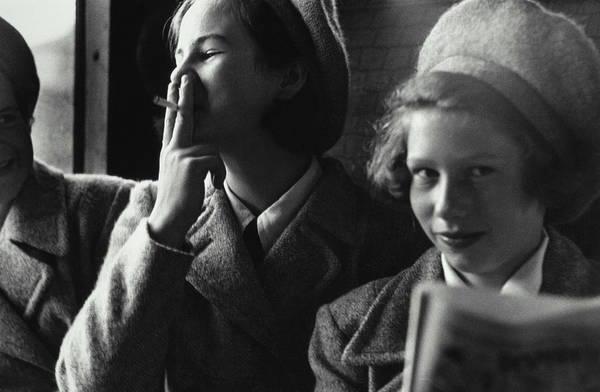 Uniform Photograph - Learning To Smoke by John Chillingworth