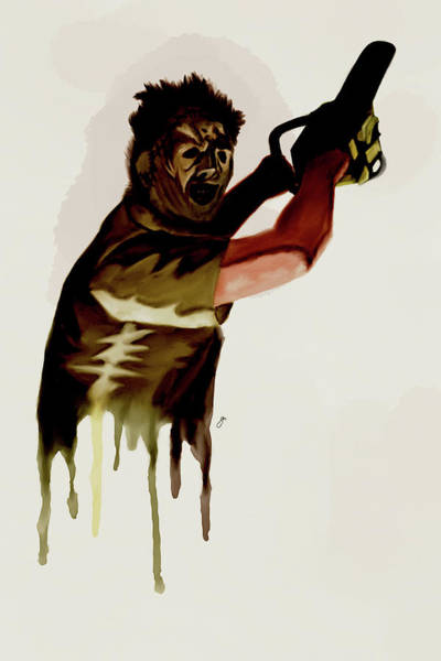 Tcm Wall Art - Digital Art - Leatherface by Gary Cadima