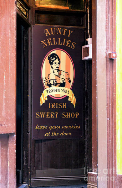 Photograph - Leave Your Worries At The Door In Dublin by John Rizzuto
