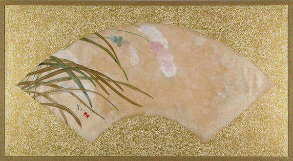 Wall Art - Painting - Leaves - Digital Remastered Edition by Shibata Zeshin