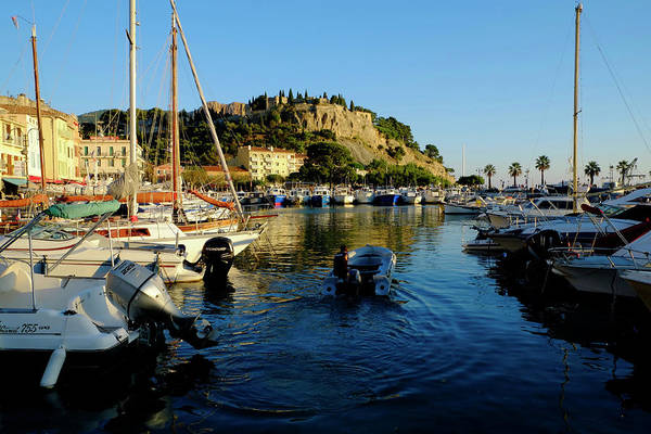 Photograph - Leaving Cassis by August Timmermans