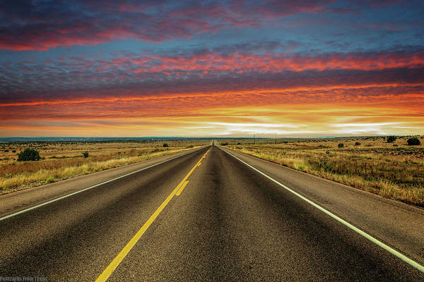 Photograph - Leaving Lubbock Vanishing Point by Gaylon Yancy