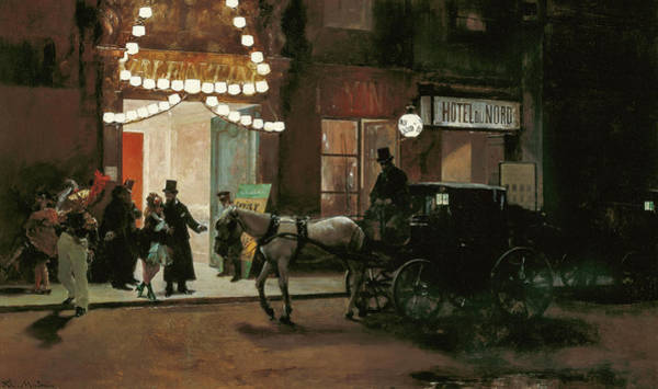 Wall Art - Painting - Leaving The Masked Ball, 1885 by Raimundo de Madrazo y Garreta