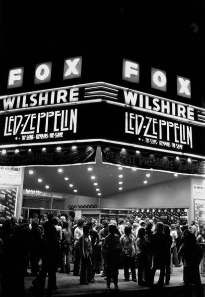 1970 Photograph - Led Zeppelin Song Remains The Same by Michael Ochs Archives