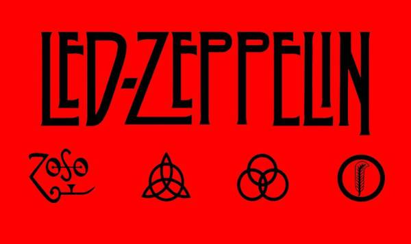 Wall Art - Digital Art - Led Zeppelin Z O S O - Transparent T-shirt Background by Daniel Hagerman