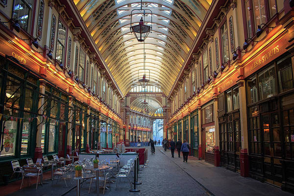 Wall Art - Photograph - Leadenhall Market by Martin Newman