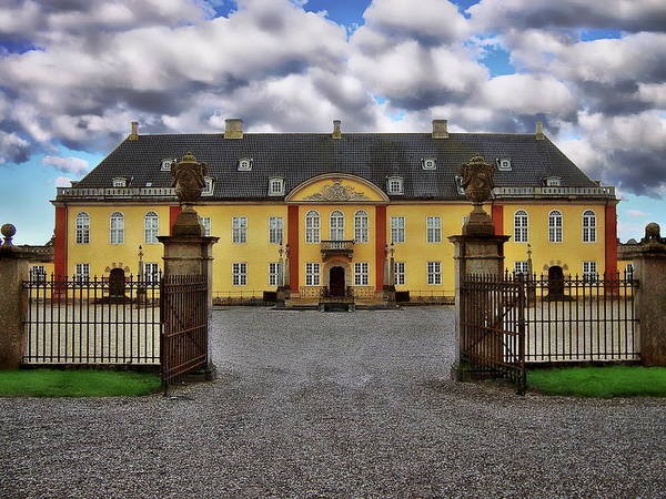 Photograph - Ledreborg Palace by Anthony Dezenzio