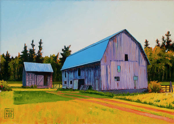Wall Art - Painting - Lee Farm by Stacey Neumiller