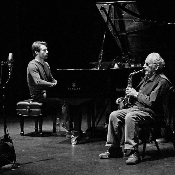 Photograph - Lee Konitz And Dan Tepfer 5 by Lee Santa