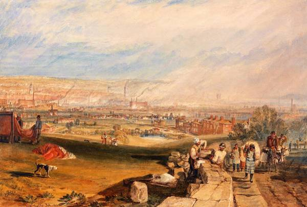 Wall Art - Painting - Leeds - Digital Remastered Edition by William Turner