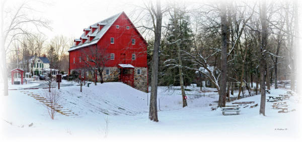 Kingsville Photograph - Lee's Merchant Mill Pano by Brian Wallace