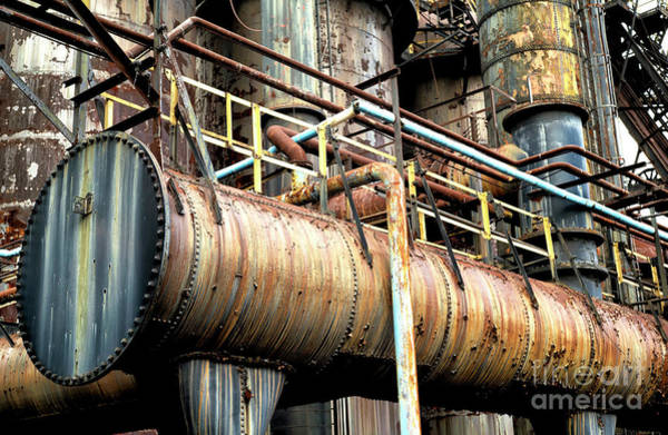 Wall Art - Photograph - Left Behind At Bethlehem Steel by John Rizzuto