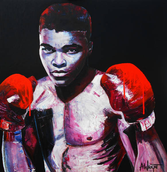 Wall Art - Painting - Legend by Angie Wright