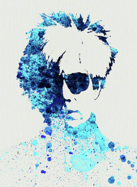 Wall Art - Mixed Media - Legendary Andy Warhol Watercolor by Naxart Studio