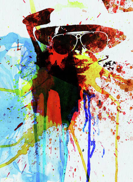 Wall Art - Photograph - Legendary Fear And Loathing Watercolor by Naxart Studio