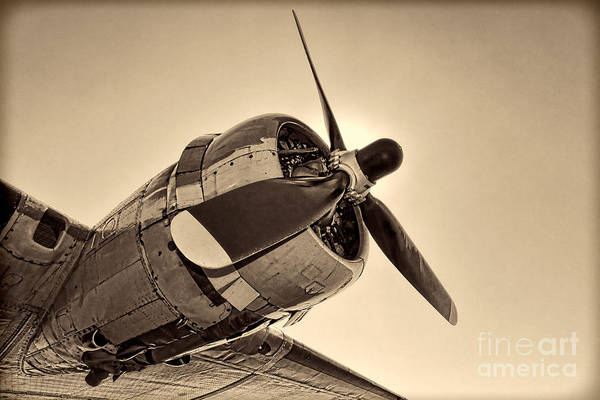 Wall Art - Photograph - Legendary Flying Fortress  by Olivier Le Queinec