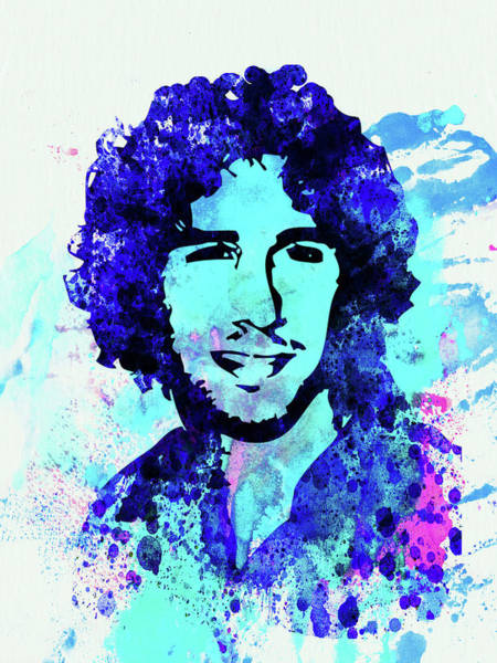 Wall Art - Mixed Media - Legendary Josh Groban Watercolor by Naxart Studio