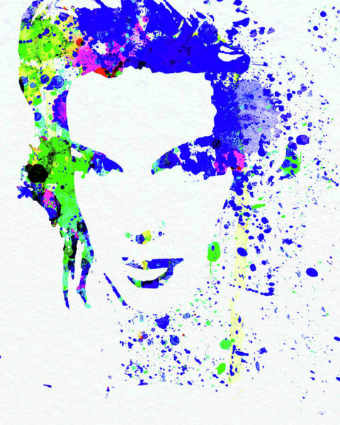 Wall Art - Mixed Media - Legendary Judy Garland Watercolor II by Naxart Studio