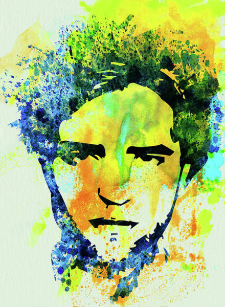 Wall Art - Mixed Media - Legendary Robert Pattinson Watercolor by Naxart Studio
