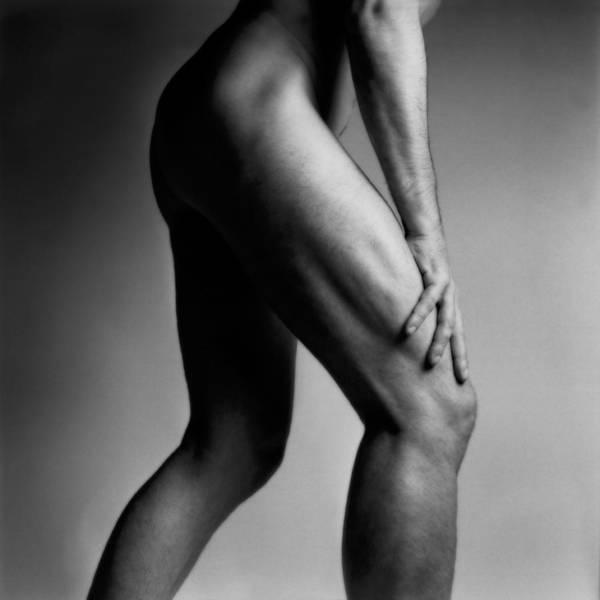 Photograph - Legs Of Nude Man by Bernard Jaubert