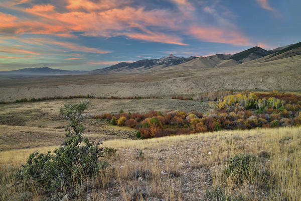 Photograph - Lemhi Sunset by Leland D Howard