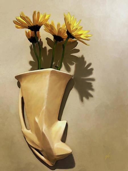 Digital Art - Lemon Buttercream by Gina Harrison
