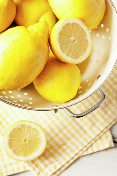 Yellow Photograph - Lemon by Gmvozd