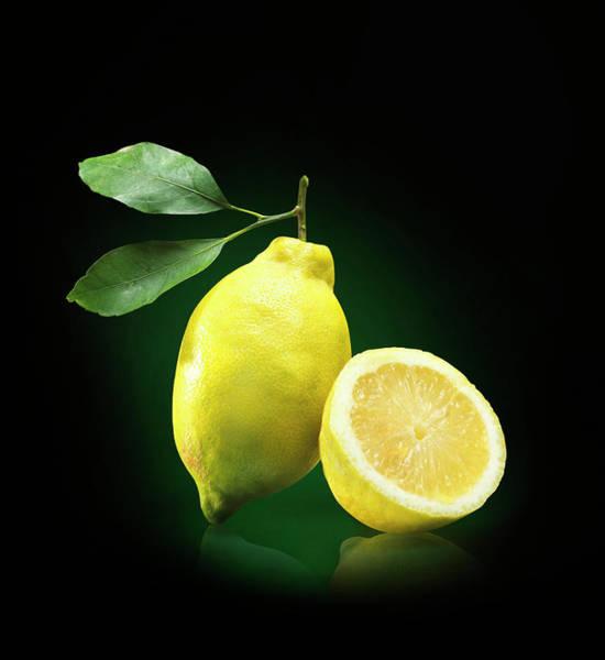 Slice Photograph - Lemon Slice by Jeremy Hudson