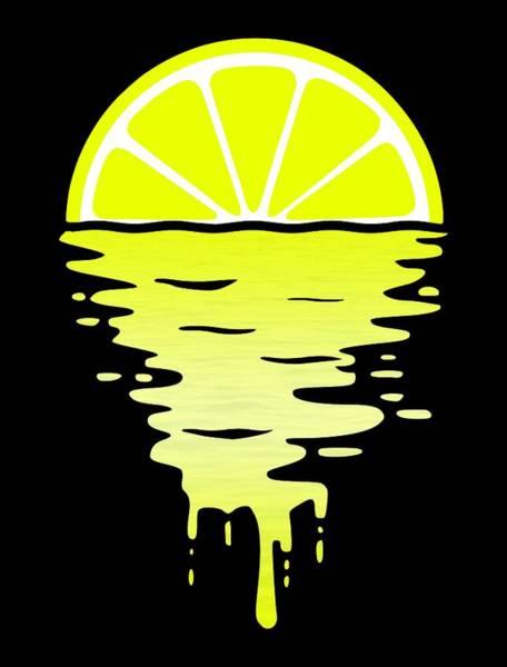 Wall Art - Digital Art - Lemon Sunset by Filip Hellman