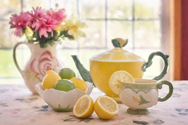 Photograph - Lemon Tea  by Top Wallpapers
