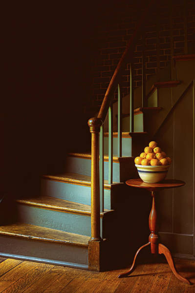 Wall Art - Photograph - Lemons And Stairs by Joseph Smith