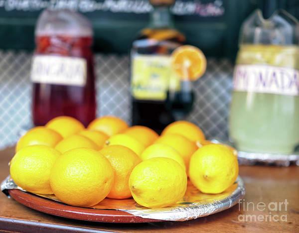 Photograph - Lemons In Seville by John Rizzuto
